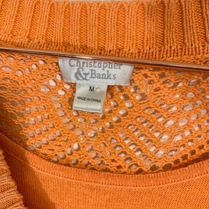Christopher & Banks Sweaters - Christopher & Banks |  Layered Tank & Sweater Med